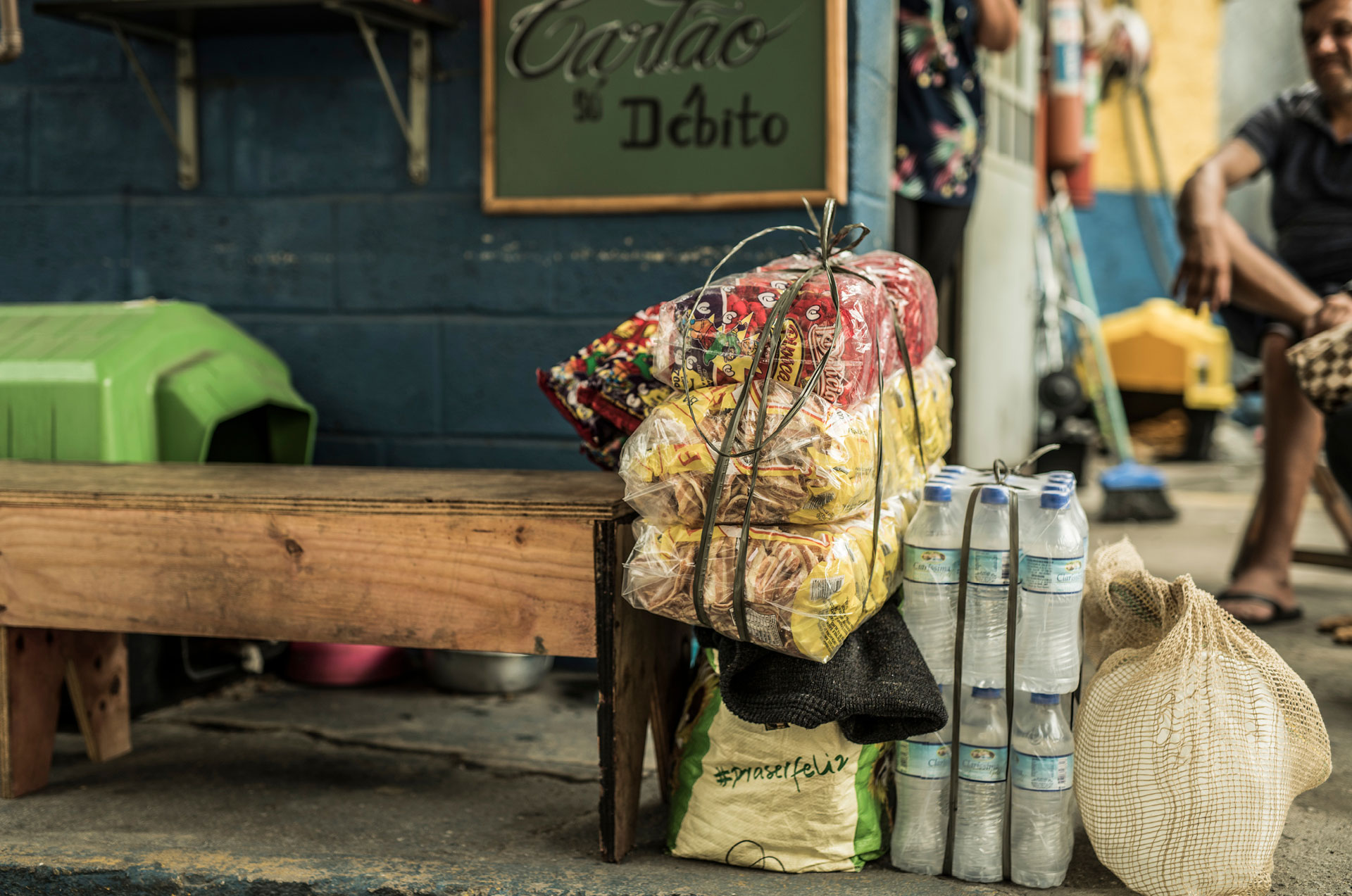 A economia informal está cada vez mais visível