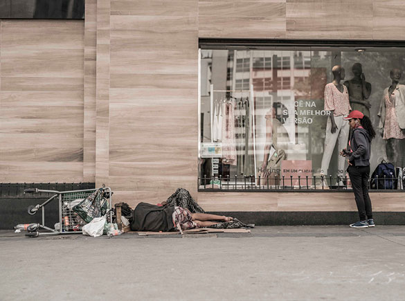 A pandemia dos desabrigados
